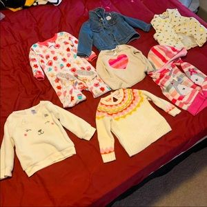 7 baby girl fall clothes
